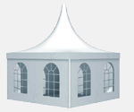 3m Pagoda Party Tent Marquee by Arc Marquees