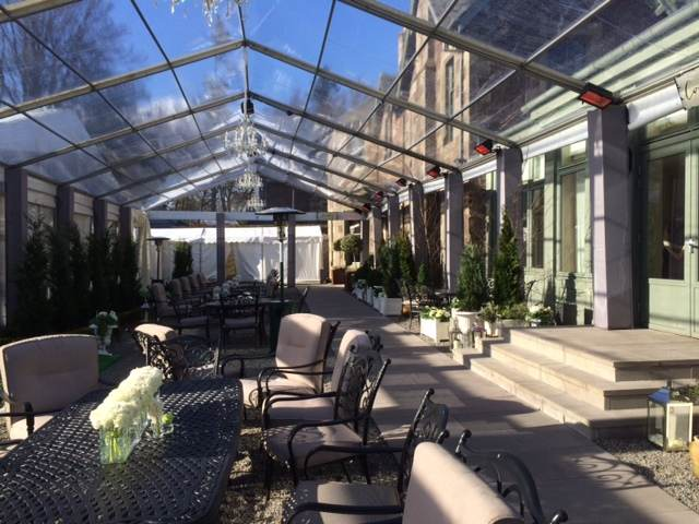 Clear roof - Clear structure for private party