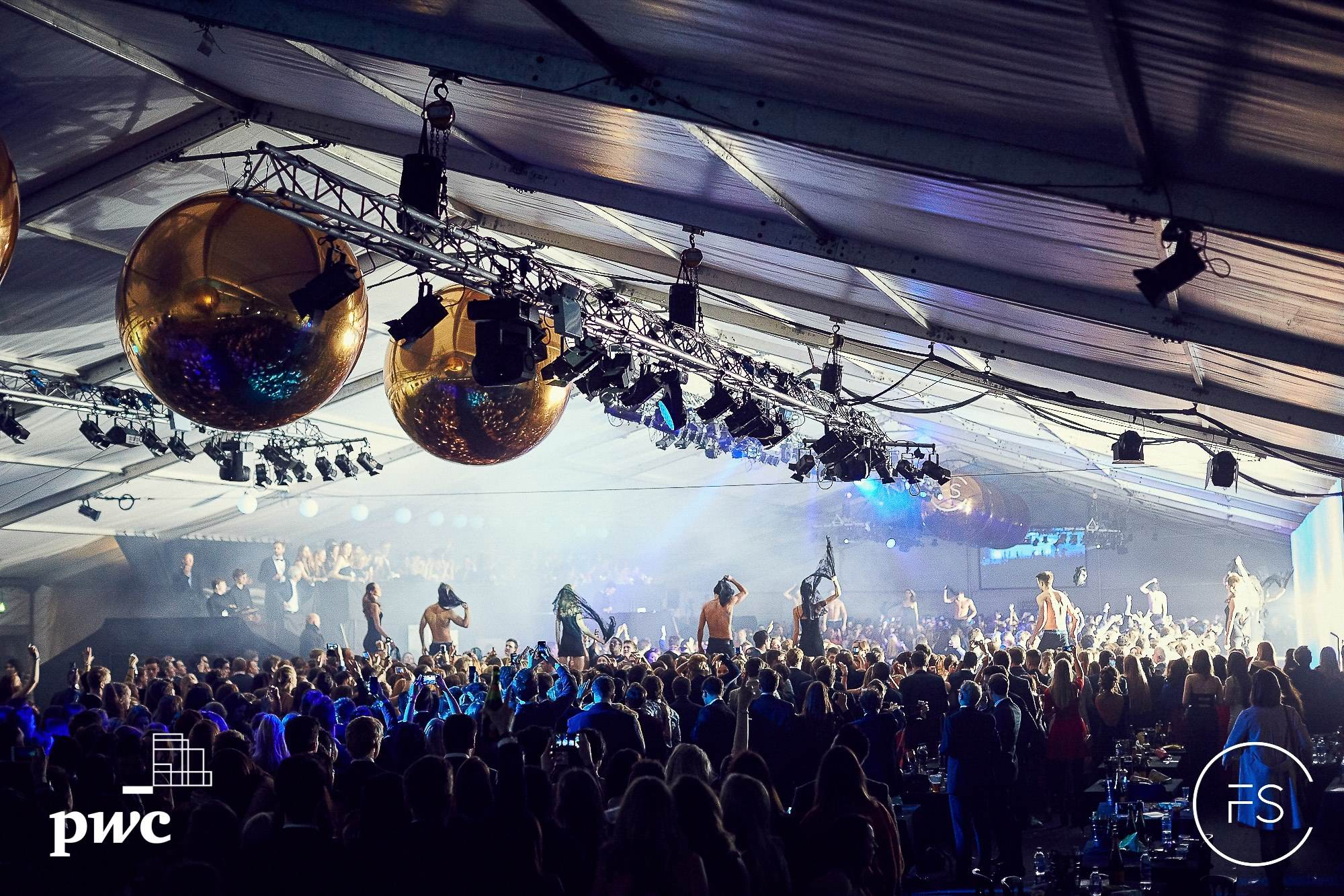Concert Hire - 25m x 75m structure with viewing balcony