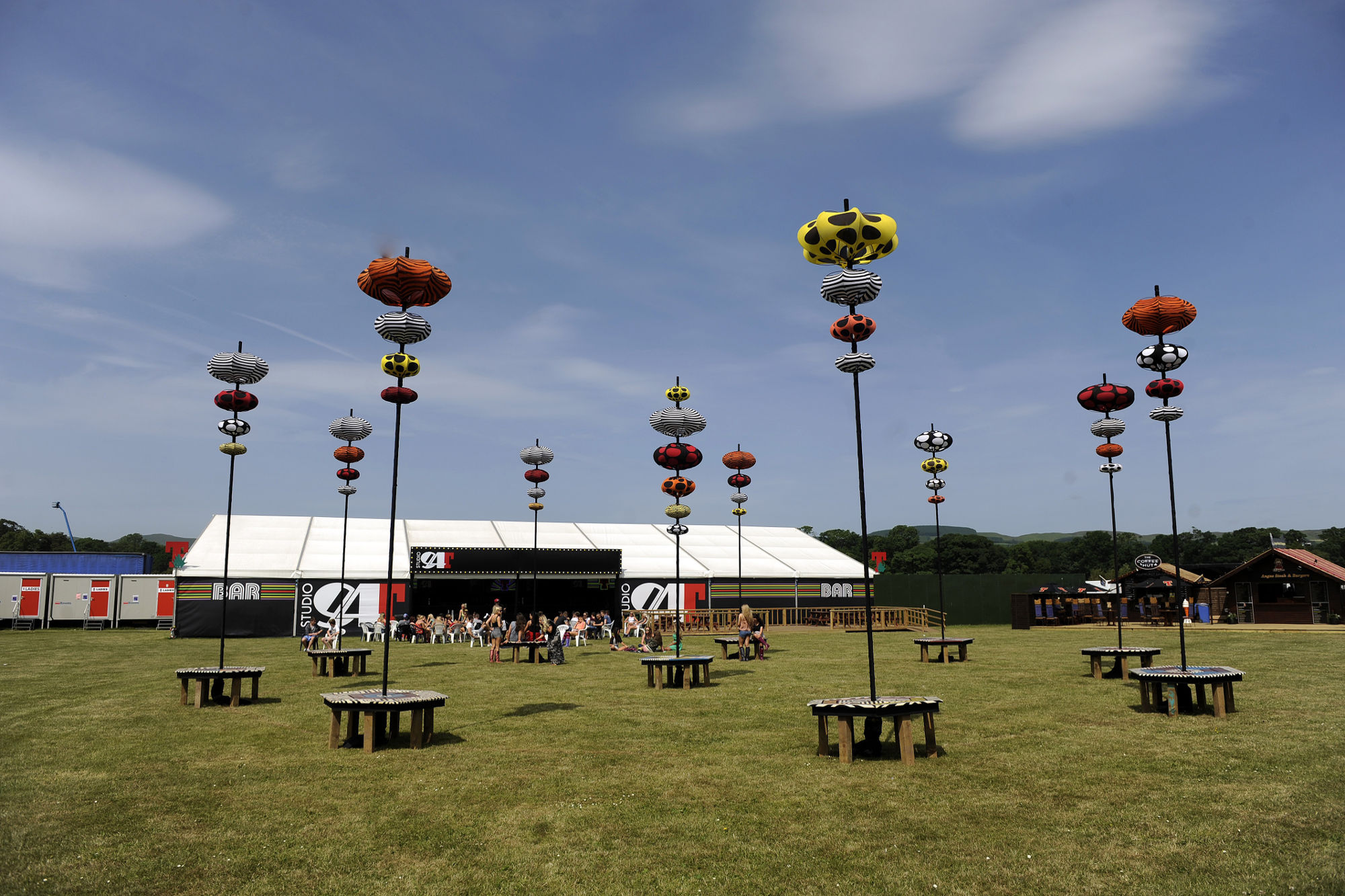 Concert Hire - Hospitality Tent (Festival)