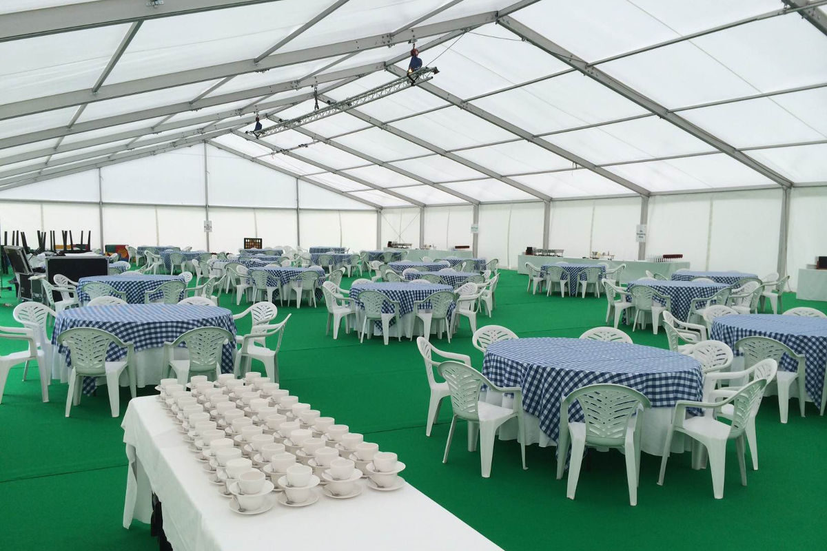 Corporate Hire - Corporate Picnic Day Marquee
