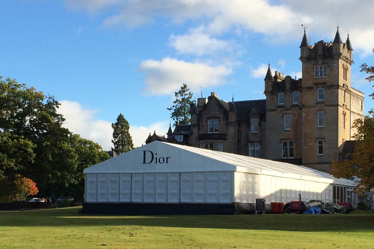 Corporate Hire - Product Exhibition for Christian Dior