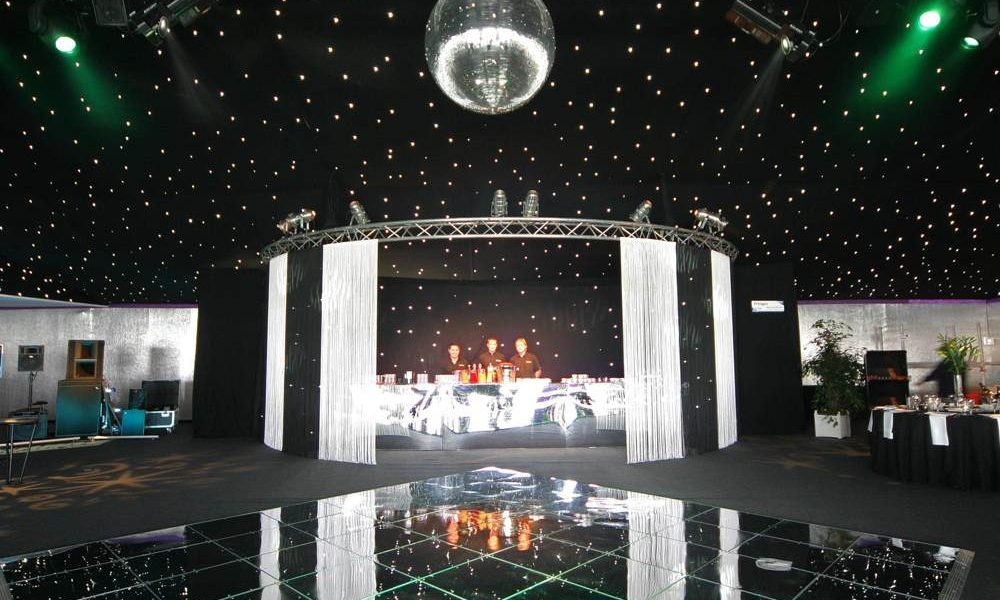 Dancefloor - Mirror Squares Floor