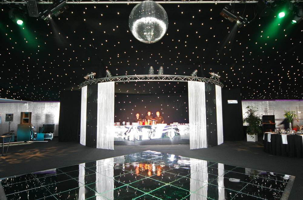 Marquee Accessories - Dance Floors - ARC MARQUEES - Marquee hire for ...