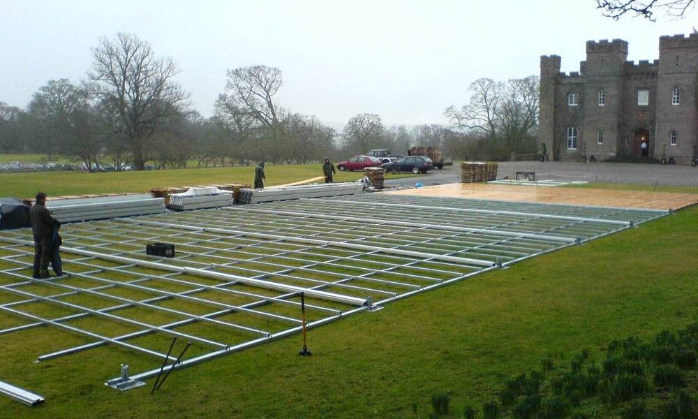 Flooring - Steel base