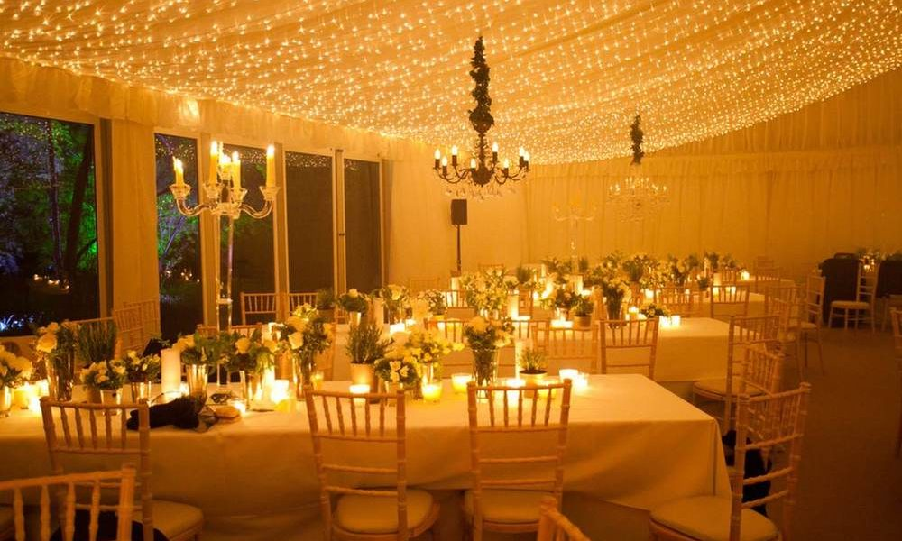 Lighting - Tea Lights on tables