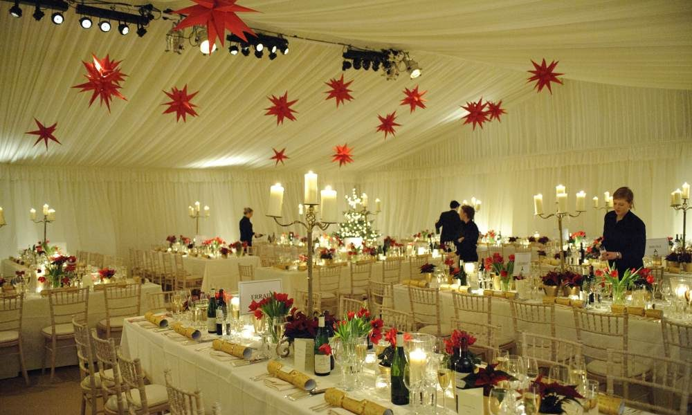 Linings - Red Star roof decorations
