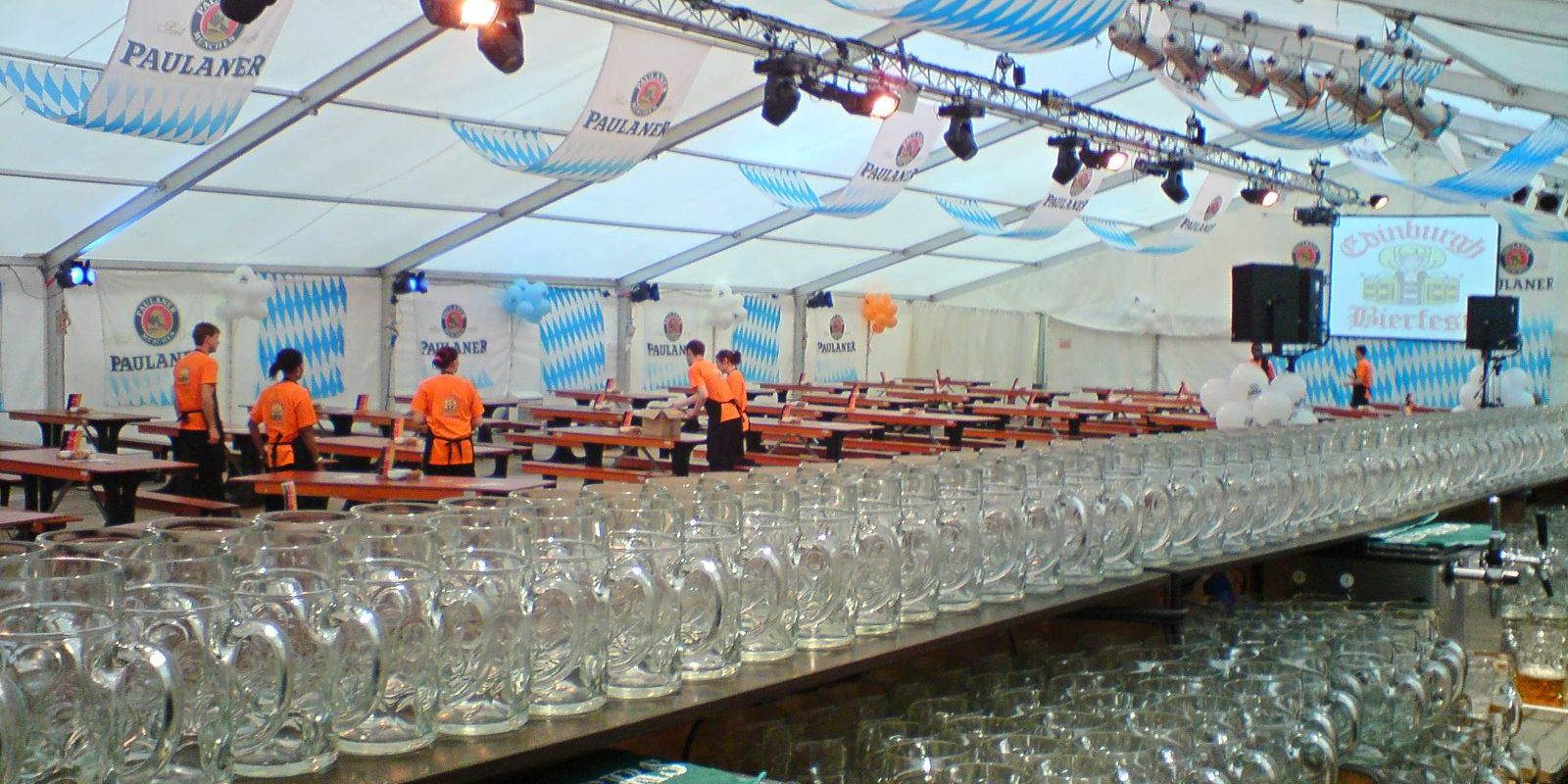 Sporting Hire - Beer Festival in 20m wide structure