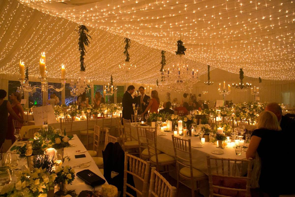 Wedding Hire - Pea-Light Canopy