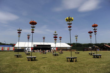 Concerts and festivals marquee hire